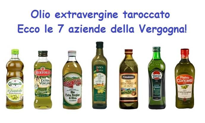 Truffavano la gente spacciando olio di oliva per extravergine. Ecco i nomi dei 7 primari marchi che da ora sarà meglio evitare!!